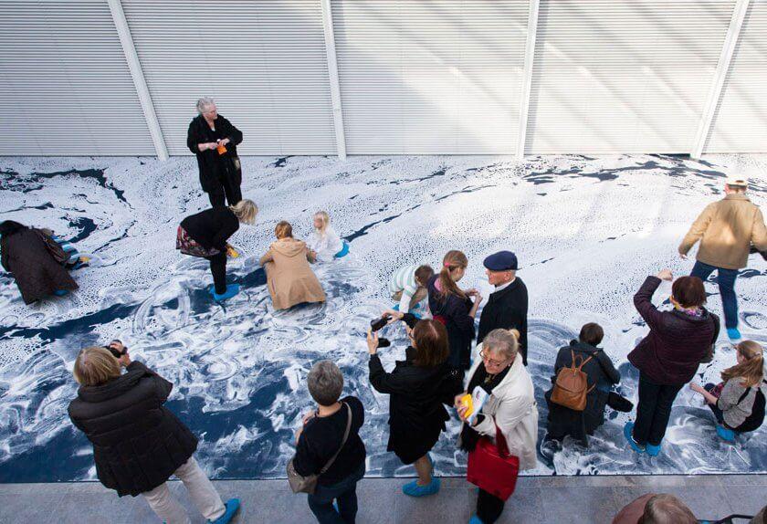 Erunst Barlach Haus・山本基・海に還るプロジェクト