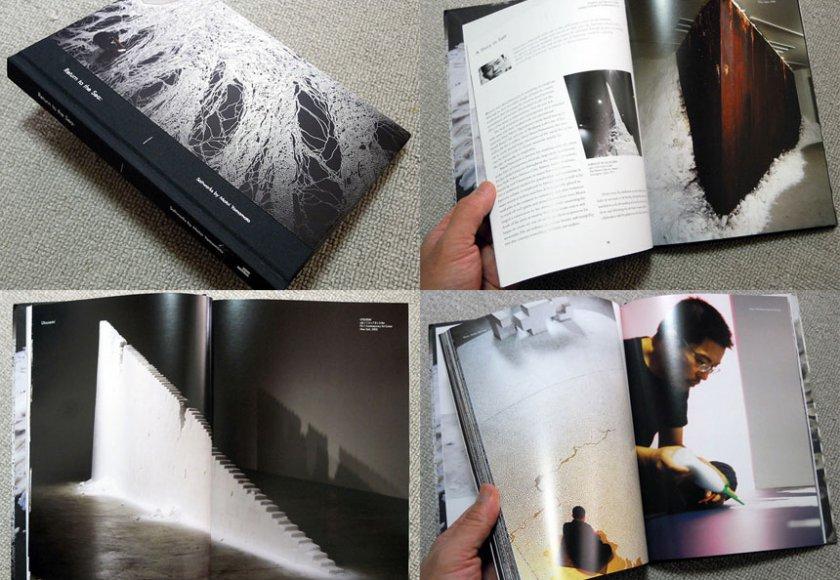 """現代美術・山本基の展覧会カタログ。2012年から14年にかけてアメリカで開催された巡回個展""""Return to the Sea""""。"""