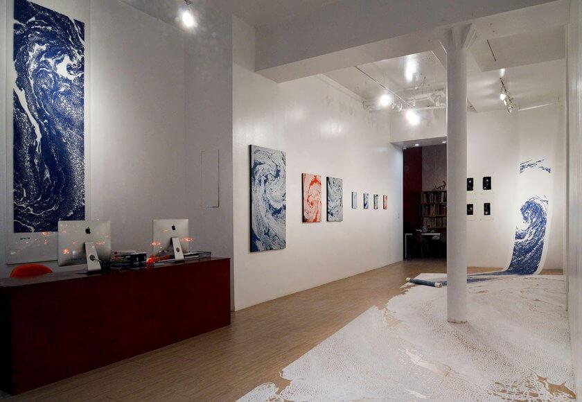 ierimonti,gallery,solo,exhibition,motoi,yamamoto,newyork,salt,installation,drawing,painting,giclee